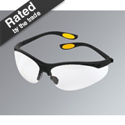 DeWalt Reinforcer Clear Lens Safety Specs